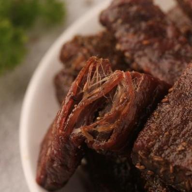 手撕风干牛肉干沁牧原内蒙特产健康零食休闲小吃孜然味